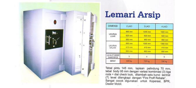 Brankas Lemari Arsip Conceal Safe