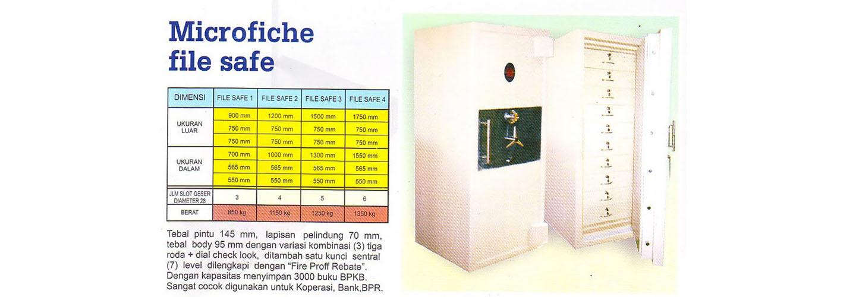 Brankas Microfiche File Safe